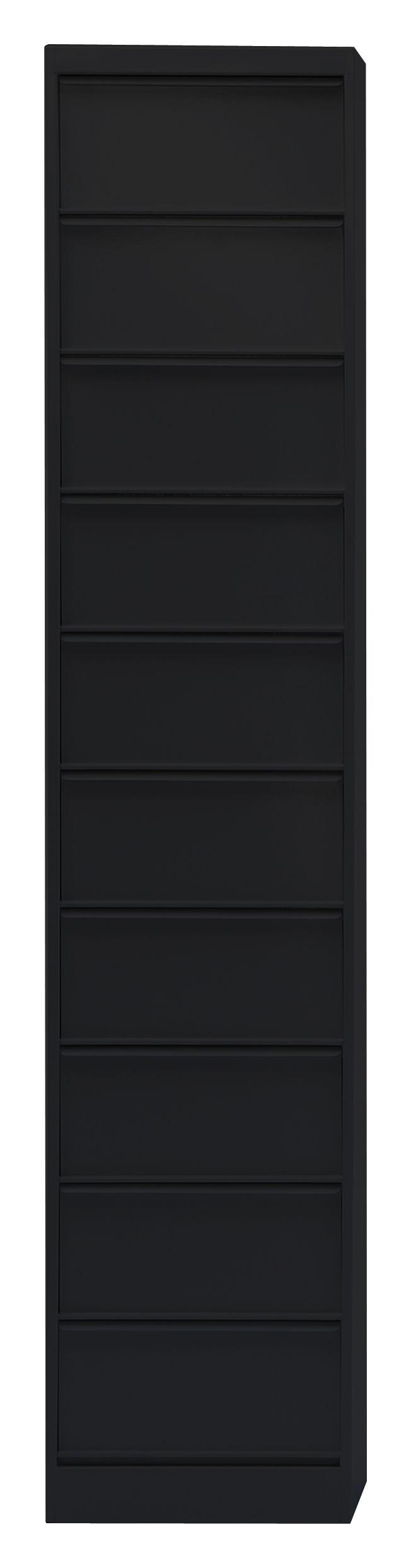 Rangement classeur clapets cc10 10 clapets noir tolix - Semaine du mobilier chez made in design jusqua ...
