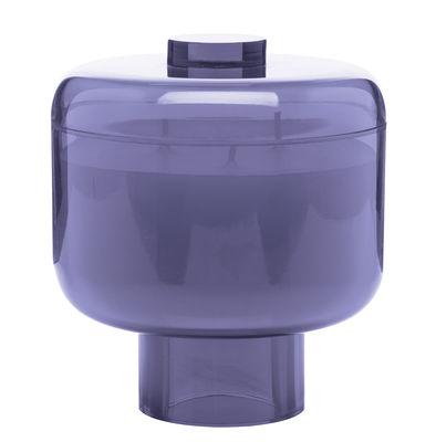 Foto Candela profumata Nikko / H 14 cm - 60 ore - Kartell Fragrances - Rosa - Materiale plastico