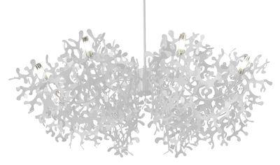 Foto Sospensione Supercoral 8 - Ø 140 cm di Lumen Center Italia - Bianco - Metallo