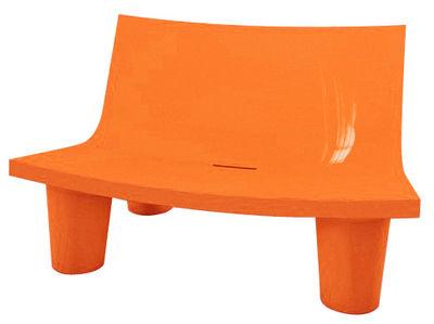 Foto Sofà Low Lita Love - versione laccata di Slide - Laccato arancio - Materiale plastico