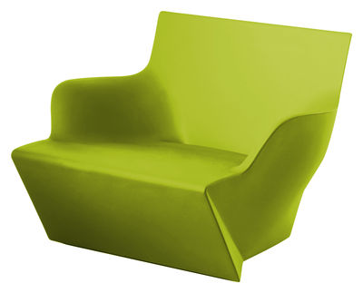 Poltrona Kami San di Slide - Verde - Materiale plastico