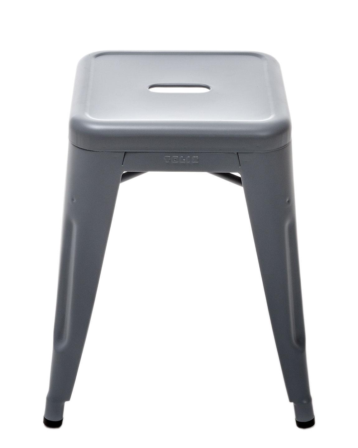 tabouret empilable h h 45 cm couleur mate le corbusier int rieur gris 59 tolix. Black Bedroom Furniture Sets. Home Design Ideas