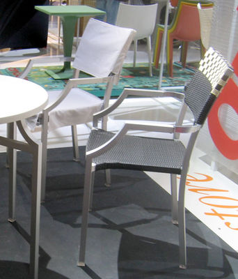 Foto Fodera per sedia - Per poltrona One Cafe' di Driade - Bianco - Tessuto