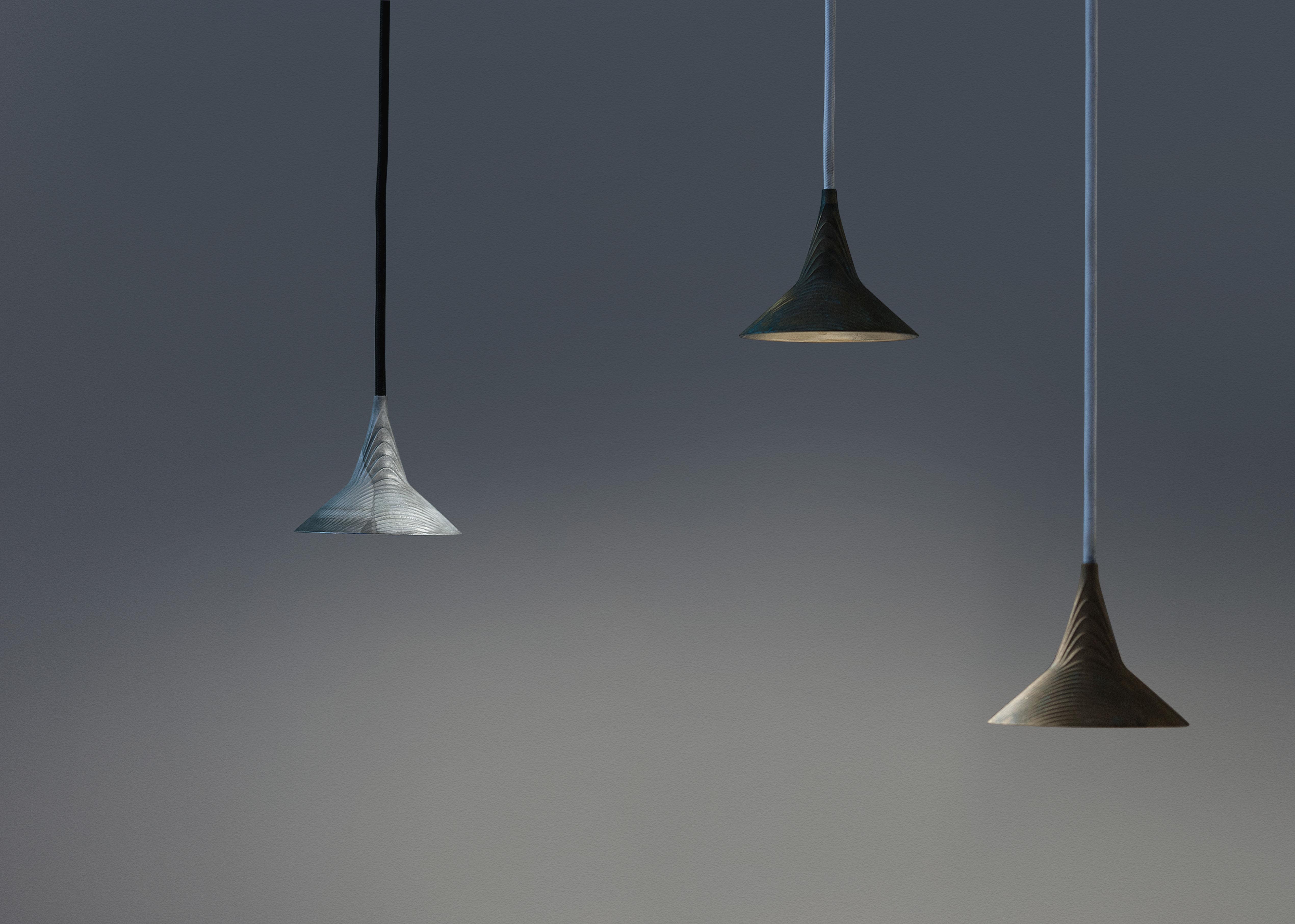 Unterlinden pendant led 10 5 cm brass by artemide - Bhv suspension luminaire ...