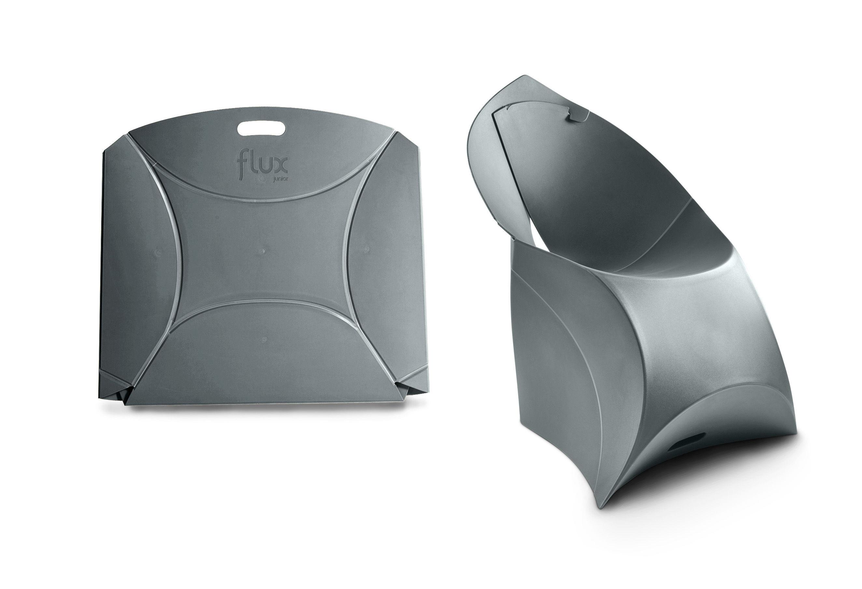 fauteuil enfant flux chair pliable gris anthracite flux. Black Bedroom Furniture Sets. Home Design Ideas
