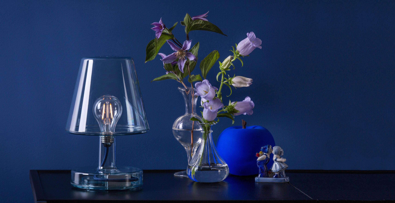 lampe sans fil transloetje led transparent fatboy. Black Bedroom Furniture Sets. Home Design Ideas