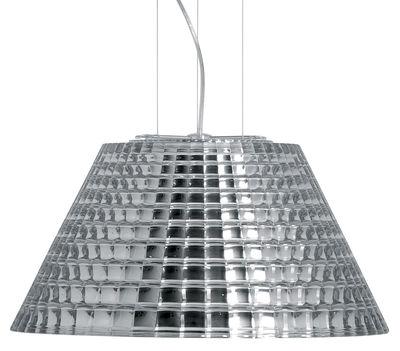 Foto Sospensione Flow - Ø 45 cm di Fabbian - Cromato - Metallo