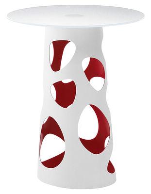 Foto Gamba da tavolo Liberty - H 105 cm di MyYour - Rosso - Materiale plastico