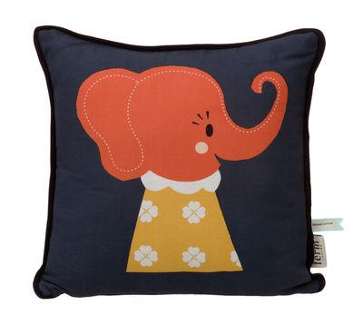 Foto Cuscino Elle Elephant di Ferm Living - Blu - Tessuto