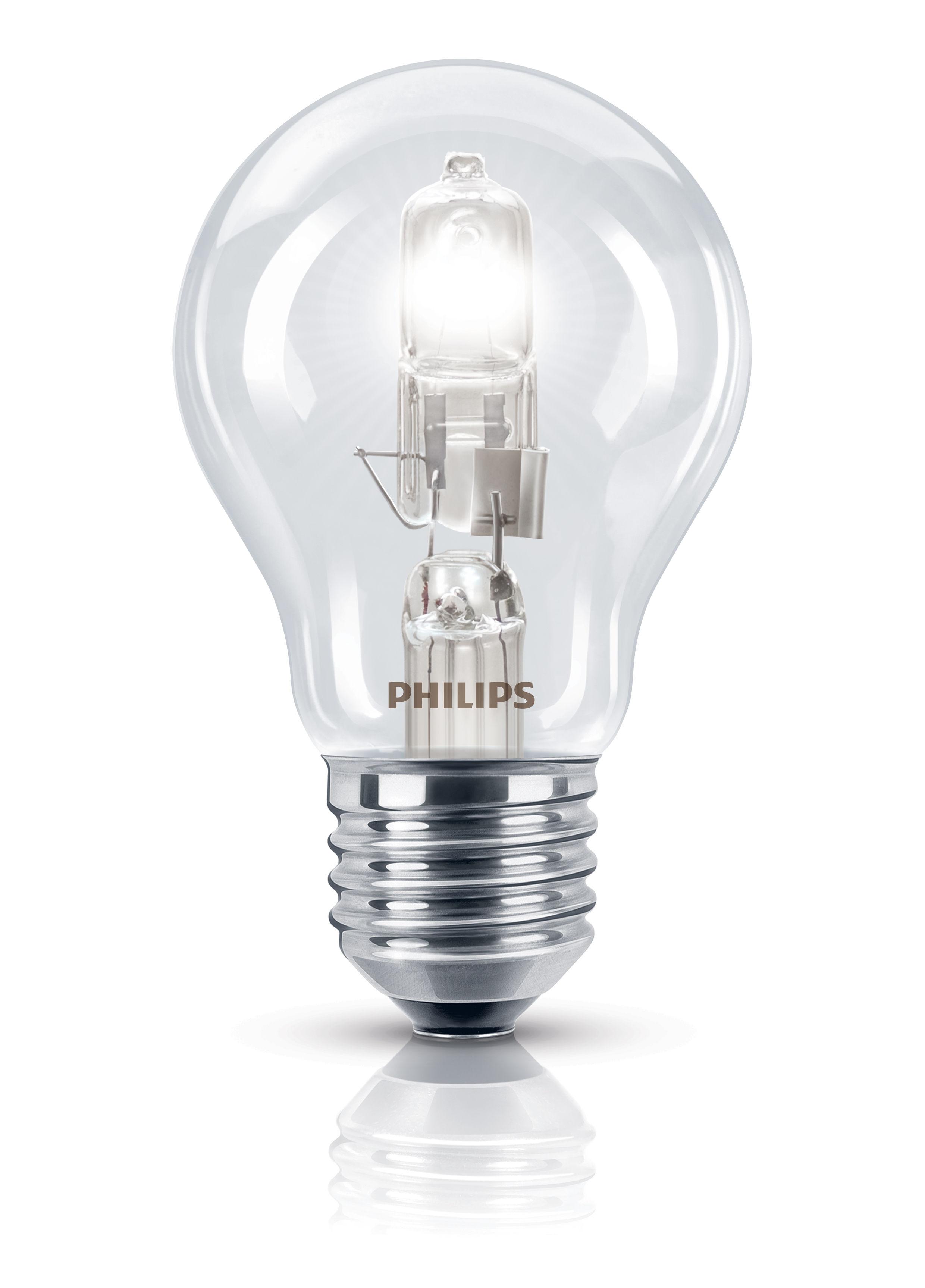 ecoclassic standard e27 eco halogen bulb 28w 35w 370 lumen 28w 35w by philips. Black Bedroom Furniture Sets. Home Design Ideas