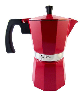 Pantone Coffee Maker How To Use : Pantone Italian espresso maker ketchup red 186 by W2 Products