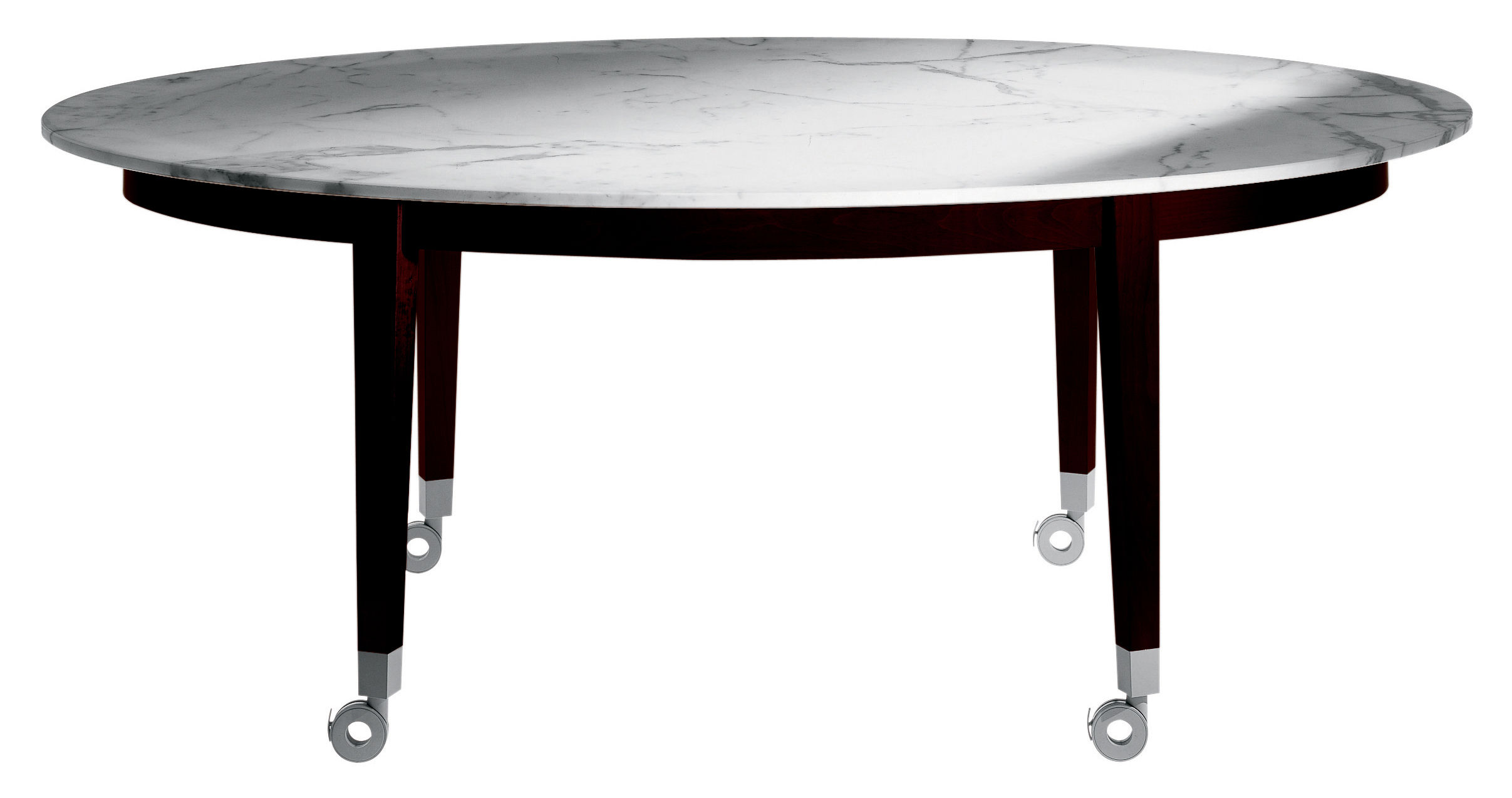 table neoz ovale 190 x 120 cm eb ne marbre driade. Black Bedroom Furniture Sets. Home Design Ideas
