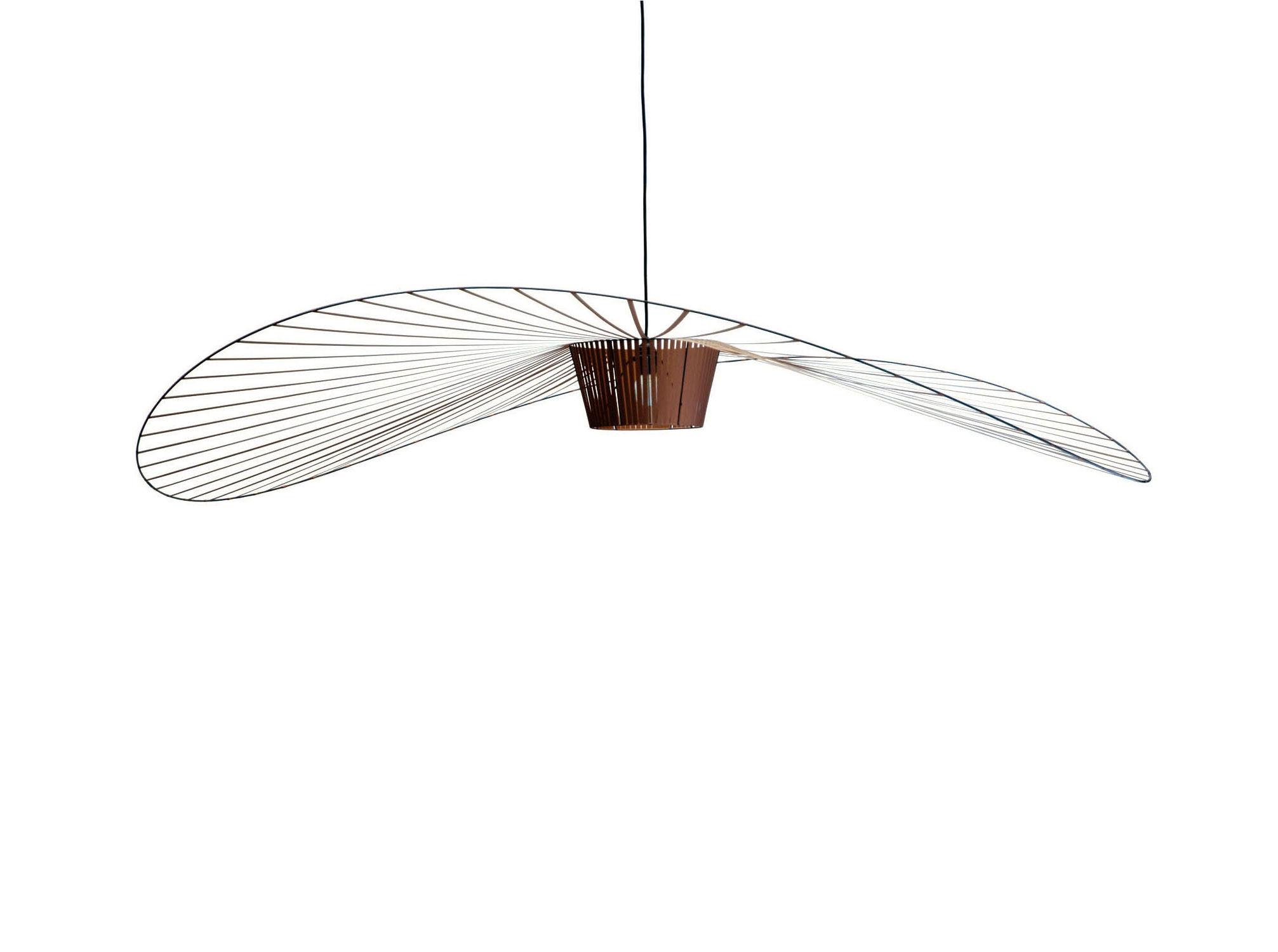 vertigo pendant 200 cm copper by petite friture. Black Bedroom Furniture Sets. Home Design Ideas
