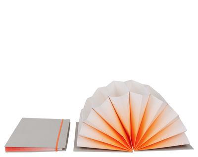 trieur pliss a4 porte documents 35 x 23 cm orange couverture gris clair hay. Black Bedroom Furniture Sets. Home Design Ideas