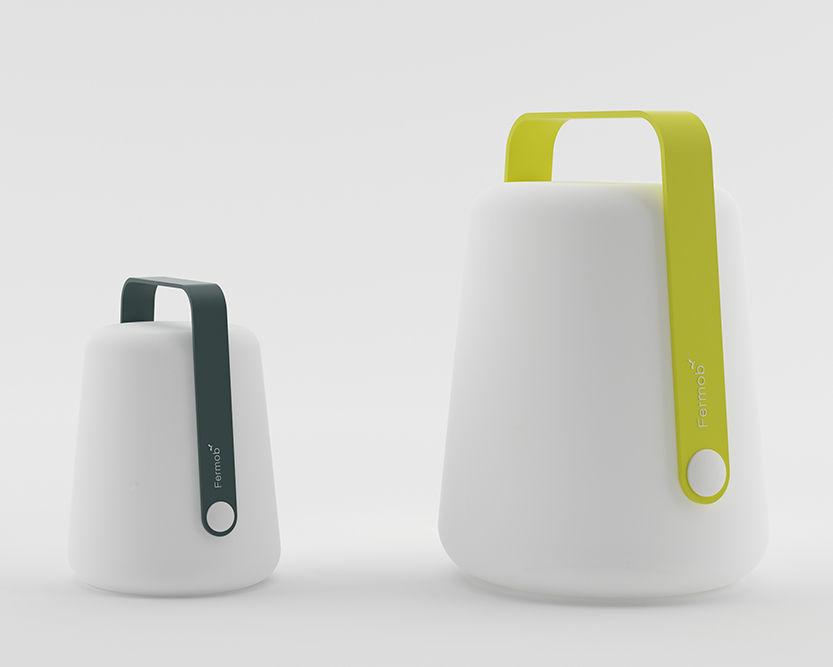 lampe sans fil balad led h 25 cm recharge usb muscade fermob. Black Bedroom Furniture Sets. Home Design Ideas