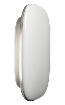 Foto Applique Tivu - L 17 cm x A 13 cm di Foscarini - Bianco - Materiale plastico
