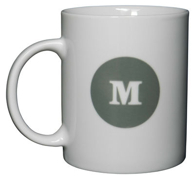 Typo Collection Mug - Letter M