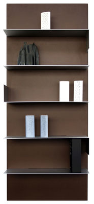 iWall Bookcase - composition with 1 board - L 80 x H 190 cm