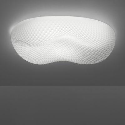 Image of Applique Cosmic landscape / Plafonnier - L 80 cm - Artemide Blanc opalin