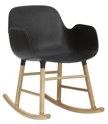 rocking chair form noir normann copenhagen. Black Bedroom Furniture Sets. Home Design Ideas
