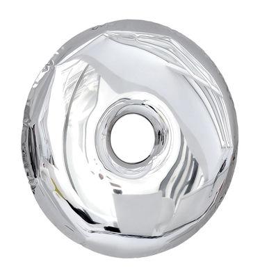 miroir rondo convexe 75 cm 75 cm acier poli brillant zieta. Black Bedroom Furniture Sets. Home Design Ideas