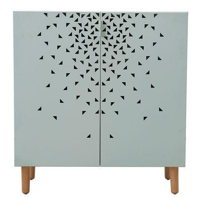 House Doctor Dresser - Metal and beech feet / W 90 x H 95 cm. Light green