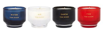 Foto Candela profumata Scent Element - / Set da 4 piccole candele di Tom Dixon - Multicolore - Vetro