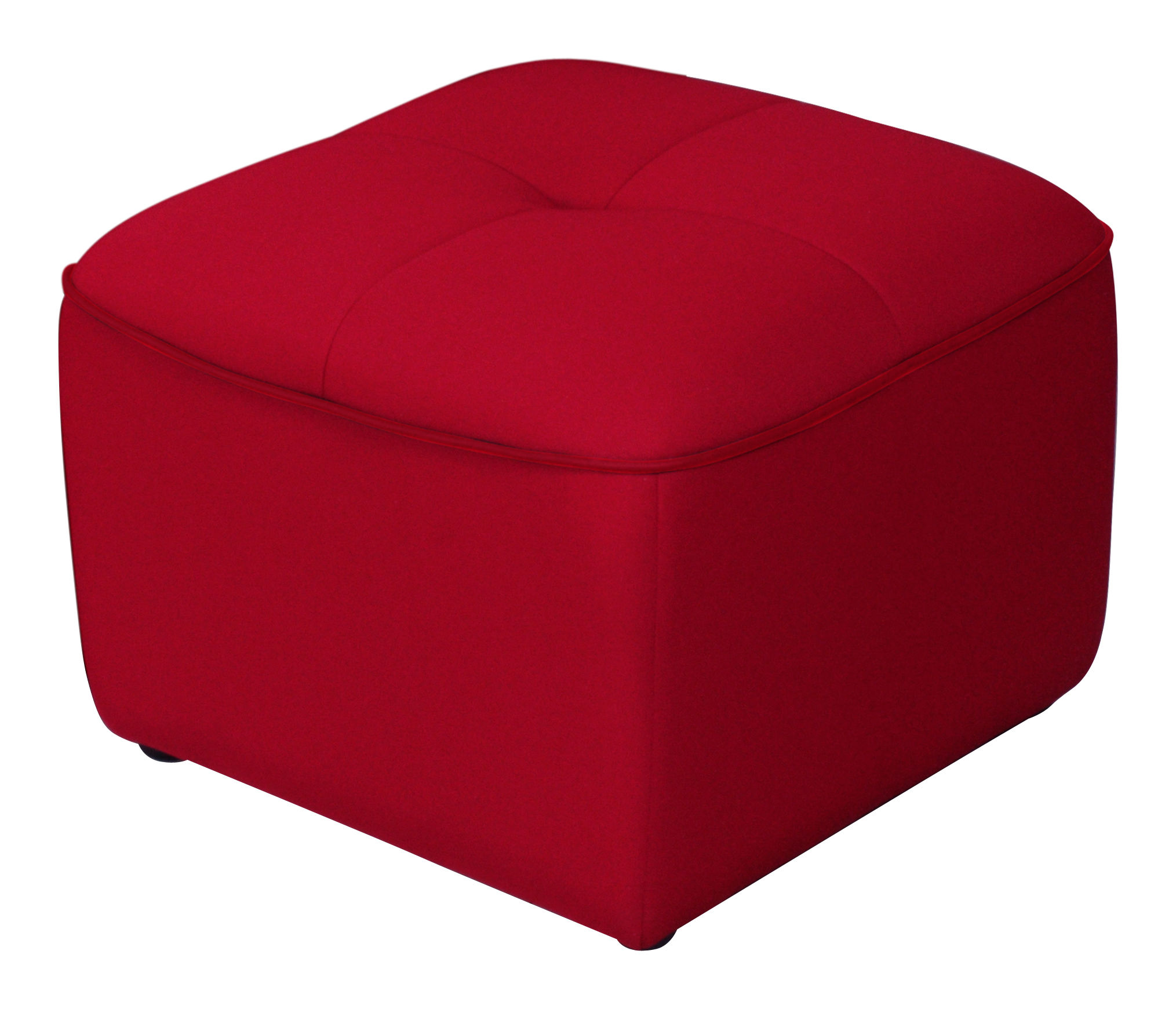 pouf chesty by ora ito rouge passepoil rouge dunlopillo. Black Bedroom Furniture Sets. Home Design Ideas