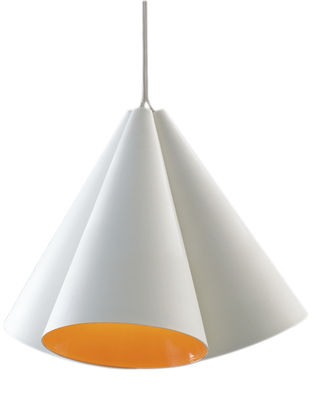 suspension campanula blanc mat orange nemo. Black Bedroom Furniture Sets. Home Design Ideas