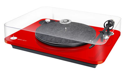 Elipson Omega Turntable Non amplified Red