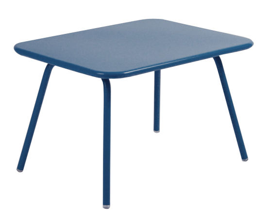 table enfant luxembourg kid bleu cobalt fermob. Black Bedroom Furniture Sets. Home Design Ideas