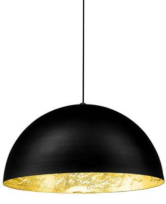 Foto Sospensione Stchu-moon 02 - Ø 80 cm di Catellani & Smith - Nero,Oro - Metallo