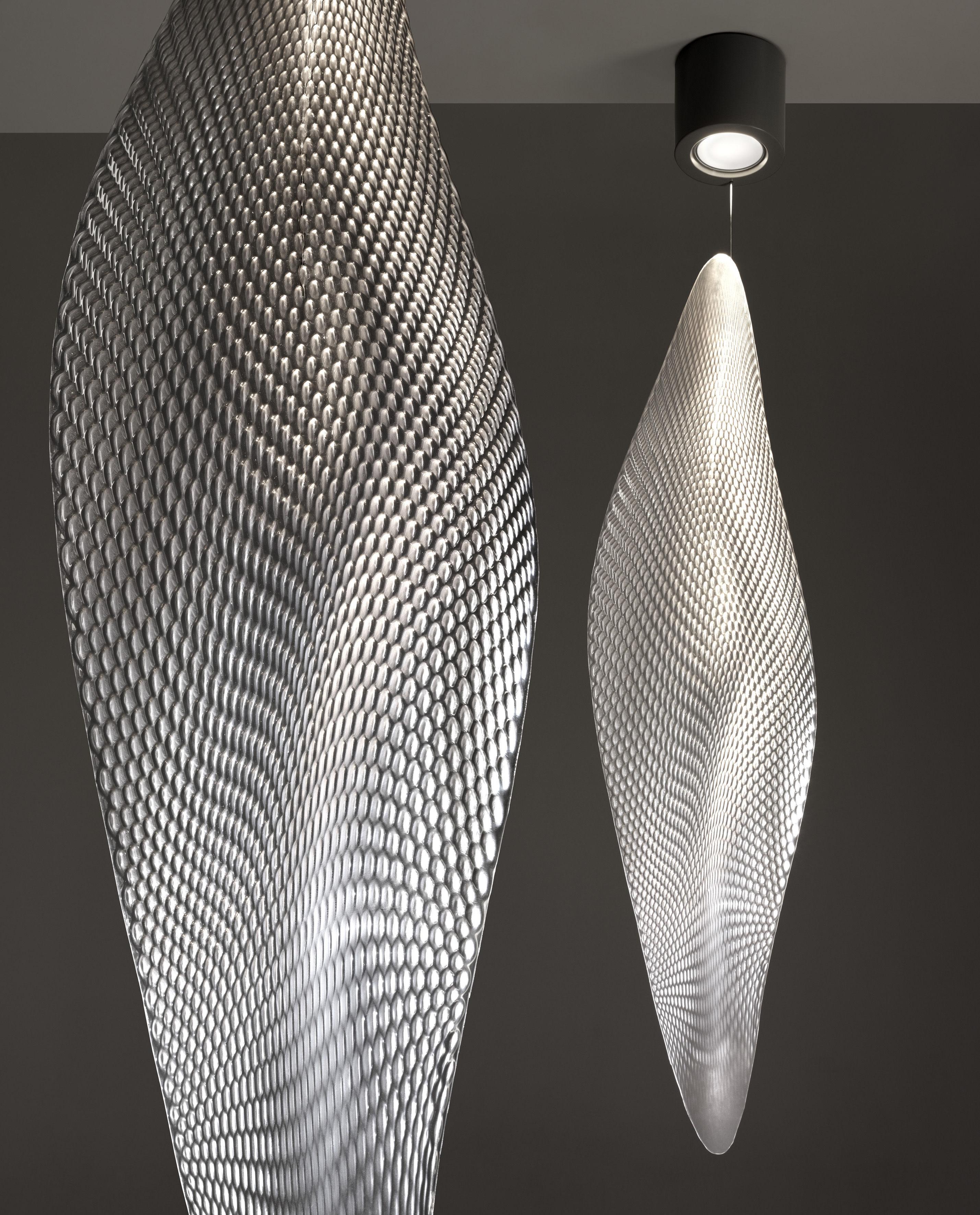cosmic leaf ceiling light grey canopy transparent. Black Bedroom Furniture Sets. Home Design Ideas