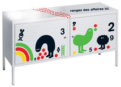 Sticker da mobili Par Geneviève Gauckler - Per comò di Domestic - Rosso,Nero,Verde - Materiale plastico