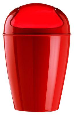 Pattumiera del xs xs 2 litri di koziol fragola materiale plastico