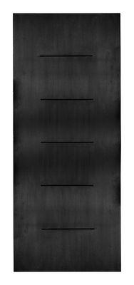 Libreria iWall - pannello da muro L 80 cm x H 190 cm di Zeus - Nero - Metallo