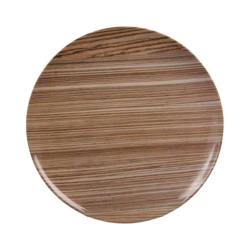 bois plate set of 3 melamine brown by klevering. Black Bedroom Furniture Sets. Home Design Ideas