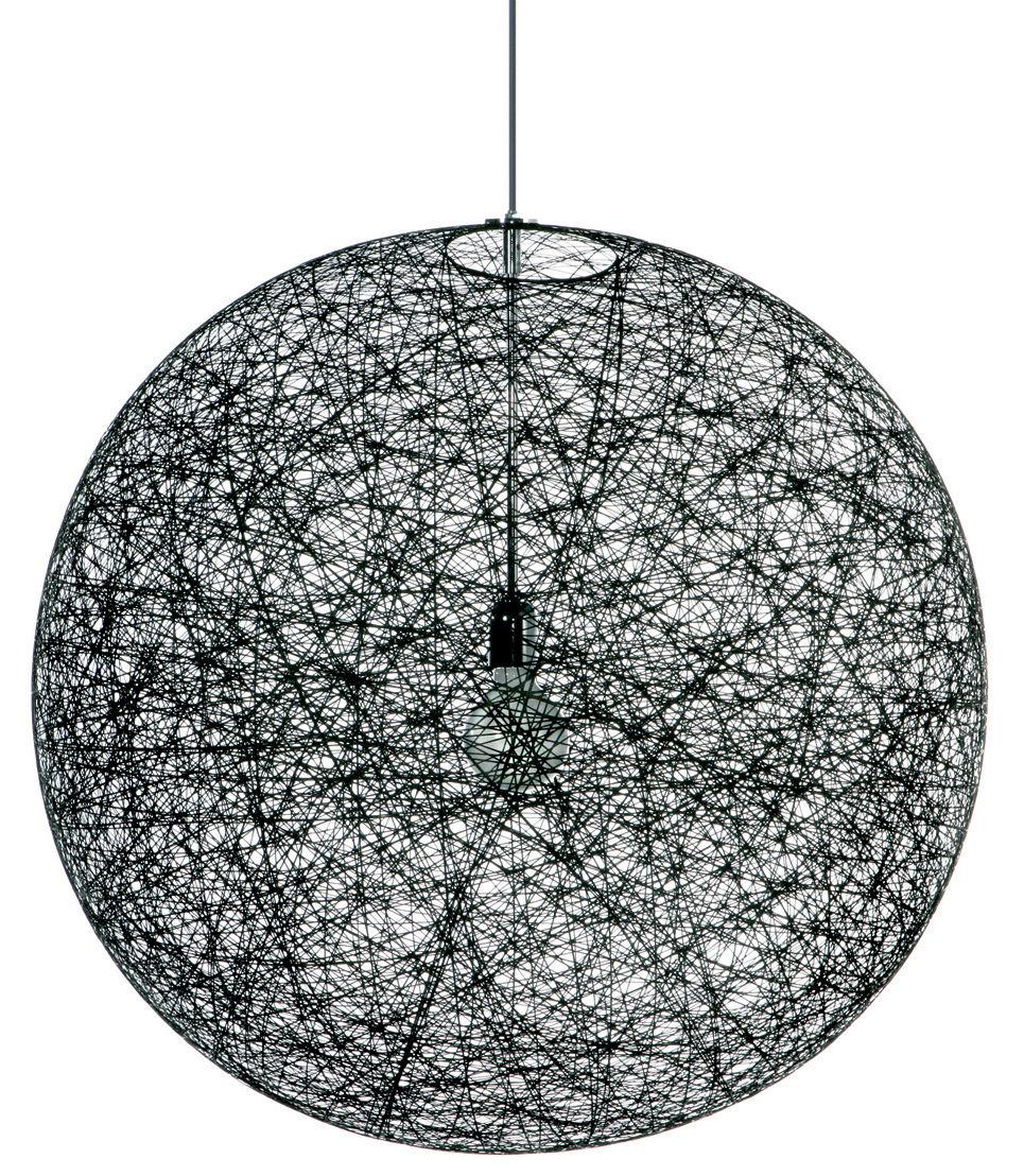 random light pendant black by moooi. Black Bedroom Furniture Sets. Home Design Ideas