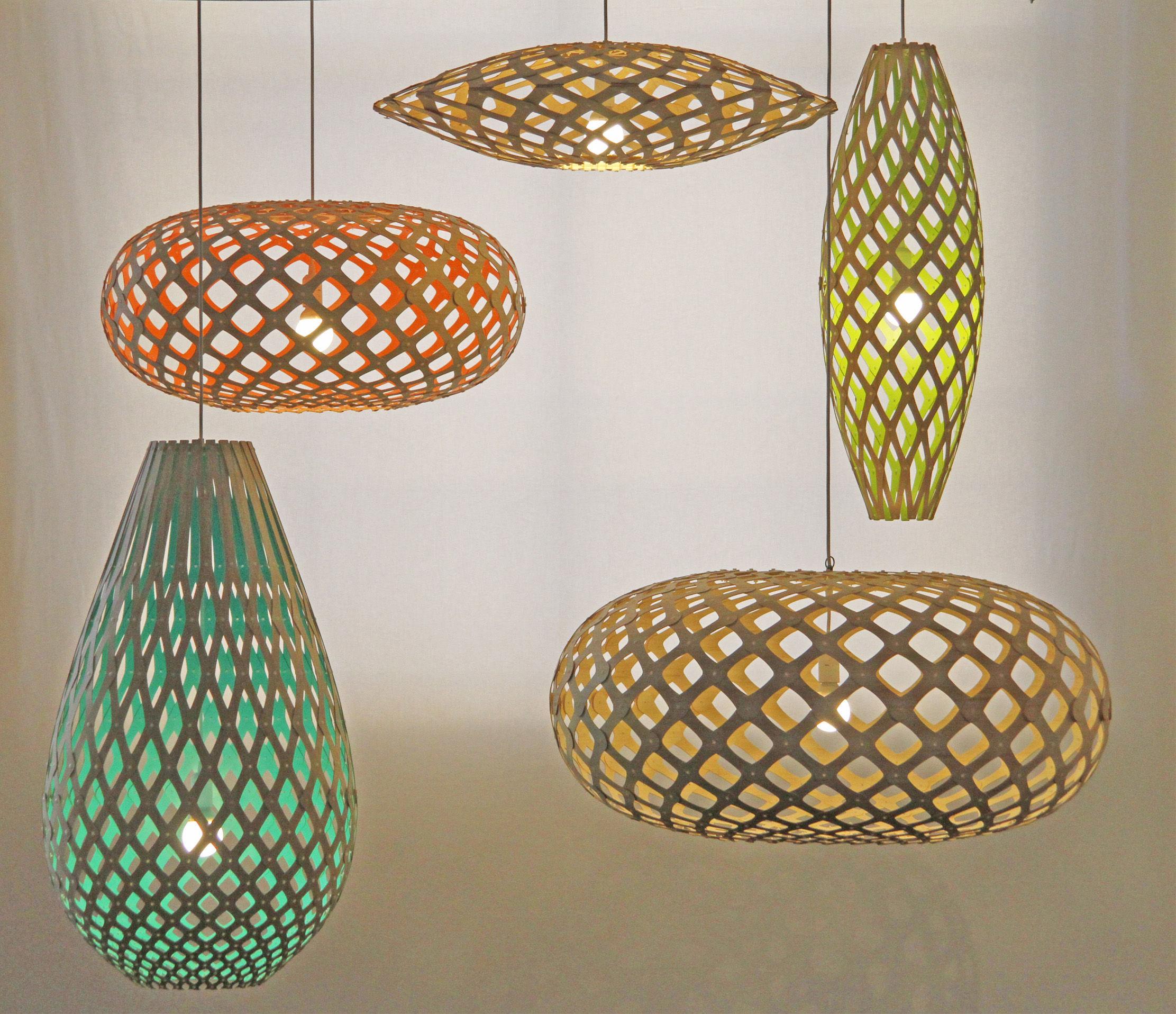 Luminaire Bois Naturel : David Trubridge Lamps