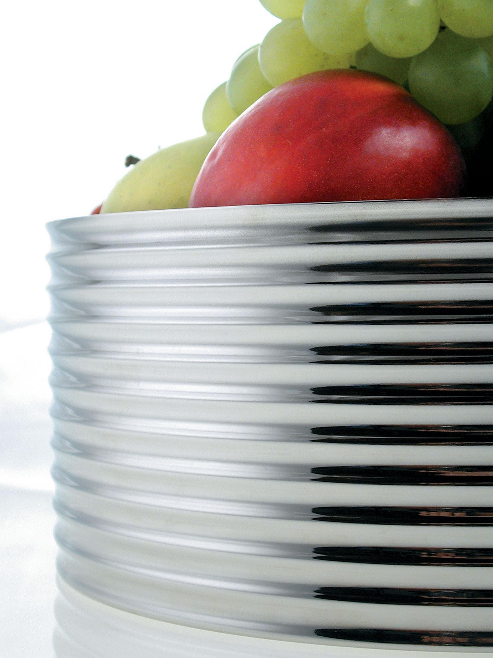 Vague fruit bowl steel by alessi - Alessi fruit bowl ...