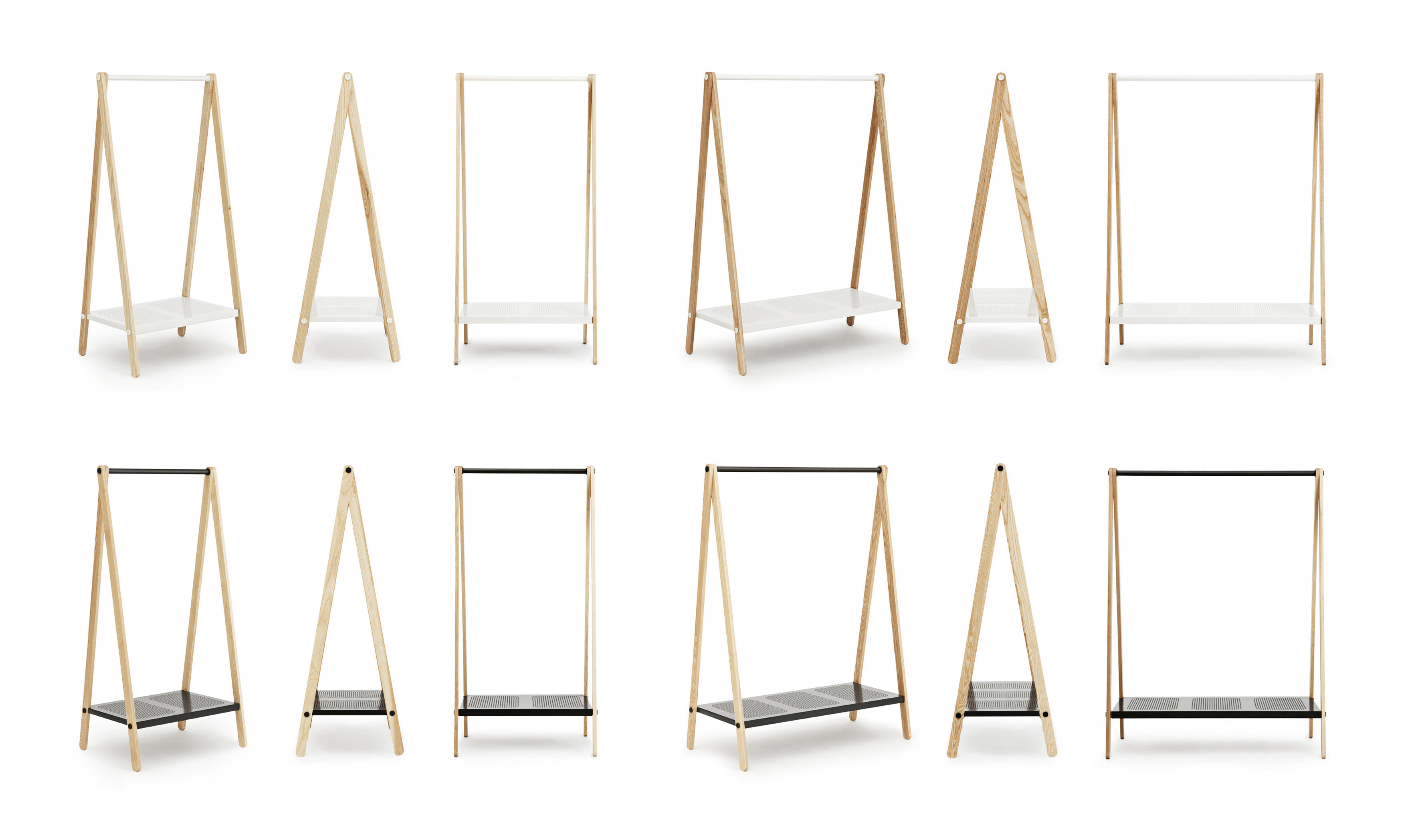 portant toj petit mod le larg 74 cm gris normann copenhagen. Black Bedroom Furniture Sets. Home Design Ideas