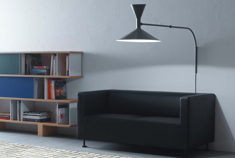 Lampe de marseille mini wall light grey by nemo - Lampe de marseille le corbusier ...