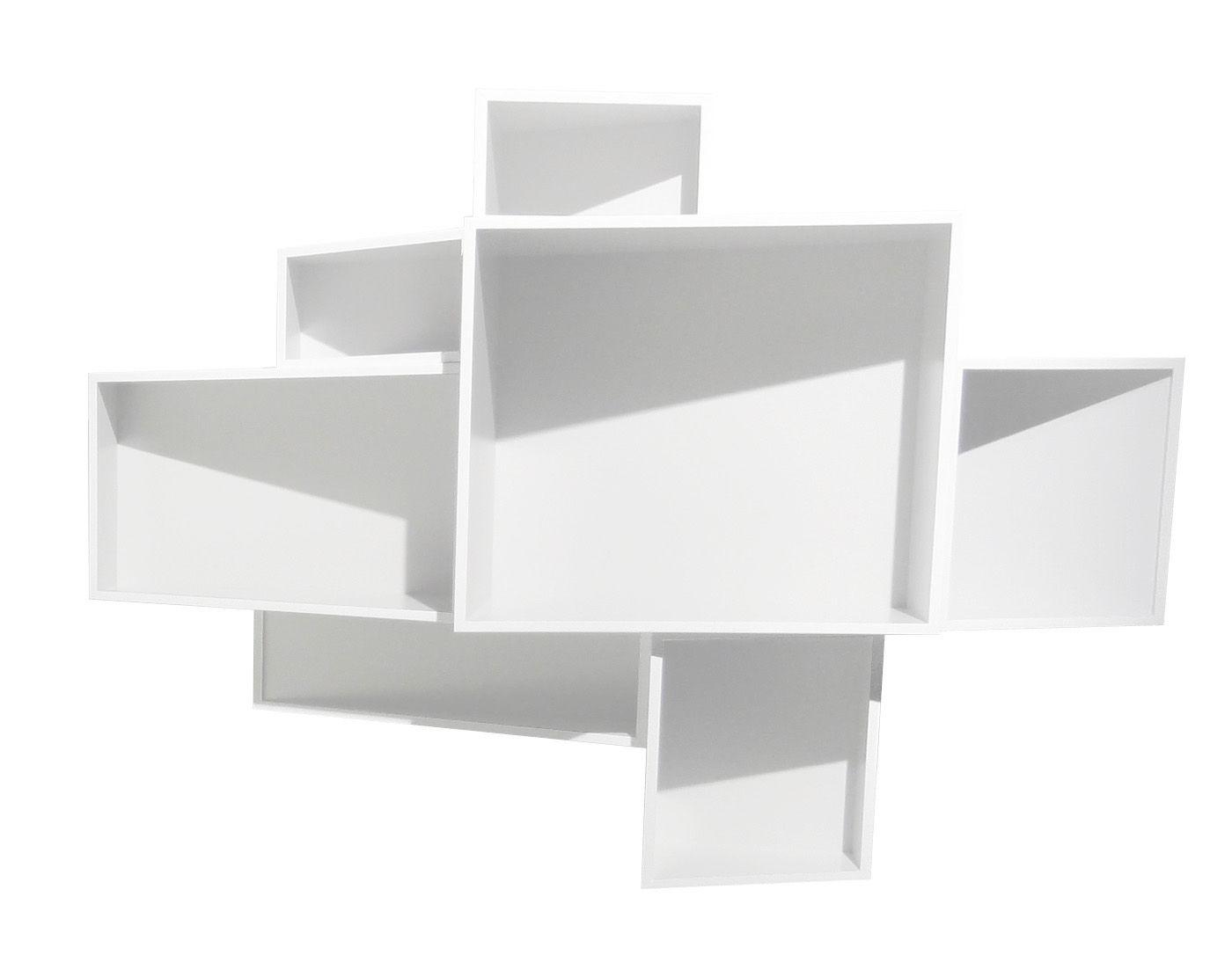 Etag Re Shellf Moyen Mod Le Uni L 146 X H 105 Cm Blanc Uni Kristalia