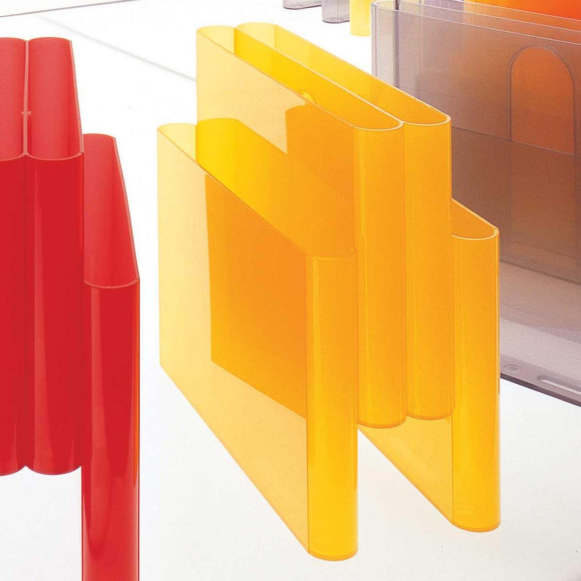 Porte revues orange kartell - Porte revue kartell ...