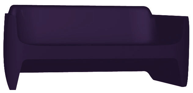 Canap translation l 168 cm violet qui est paul for Canape translation
