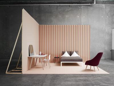 table bella desk bureau 240 x 90 cm noir hay. Black Bedroom Furniture Sets. Home Design Ideas