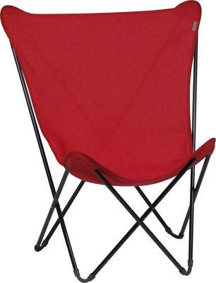 toile de rechange pour fauteuil maxi pop up rouge garance. Black Bedroom Furniture Sets. Home Design Ideas