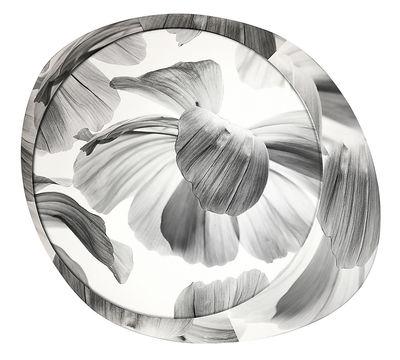 Image of Applique Wagashi Media / Plafonnier - Fleurs noires - Foscarini Noir / Fleurs
