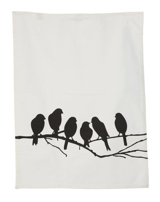 Lovebirds Tea towel