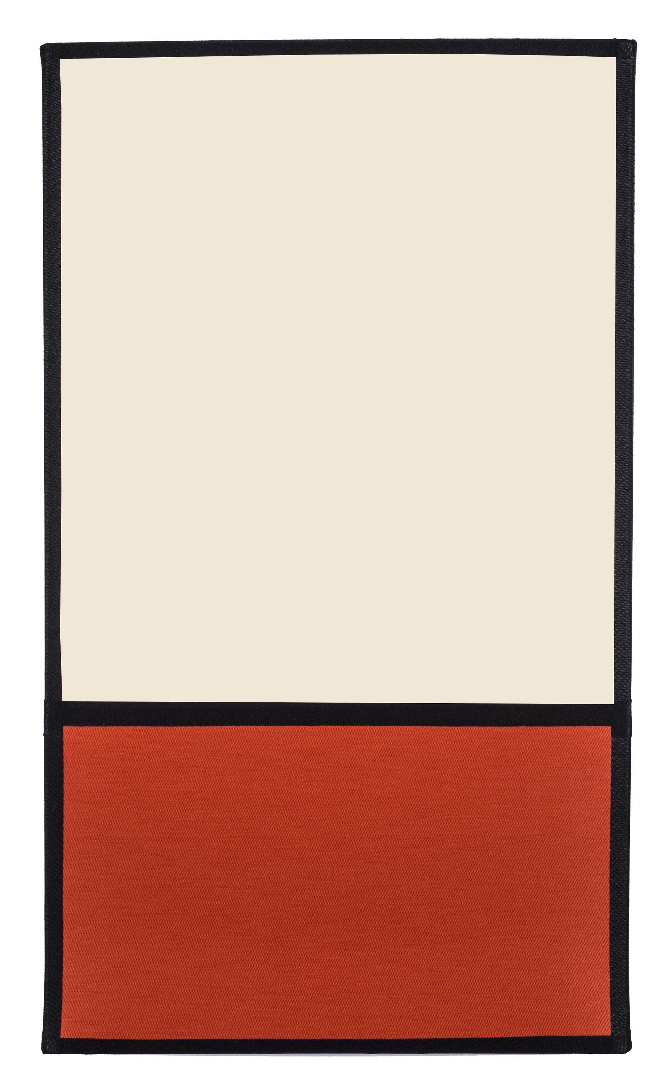 Applique Ra use Non électrifiée H 36 cm Ecru & orange Ganses noires Maison Sarah